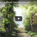 Oil Painting Walk in the Forest – Paint with Kevin Hill