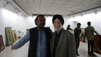 Paramjeet SIngh Pre Exhibition, Jan 2017 AIFACS
